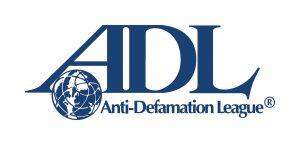 ADL logo with globe and the letters A, D and L