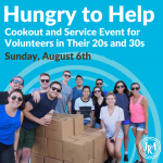 Hungry to Help: Cookout and Service Event