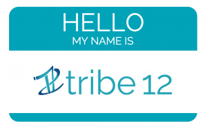 Name tag with Tribe 12