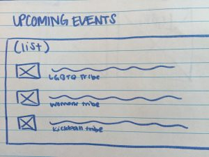 Upcoming Tribes Events List