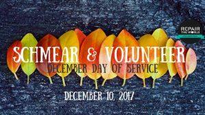 Schmear & Volunteer