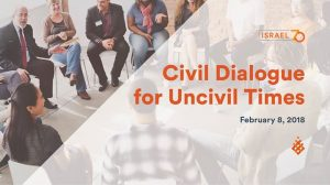 Civil dialogue for uncivil times