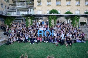 About a hundred Jewish young professionals from around the world gathered together in Israel for the ROI Summit.
