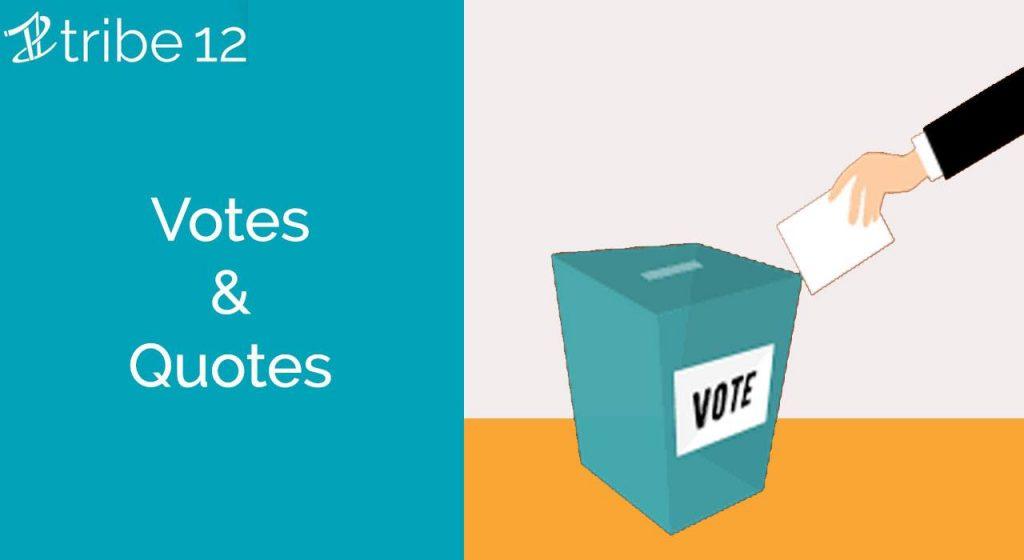 Votes & Quotes
